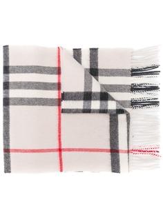 Burberry кашемировый шарф в клетку Classic Check