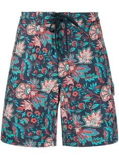 Etro плавки-шорты с цветочным узором