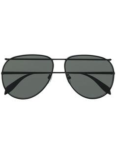 Alexander McQueen Eyewear солнцезащитные очки-авиаторы