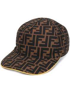 Fendi бейсбольная кепка с логотипом