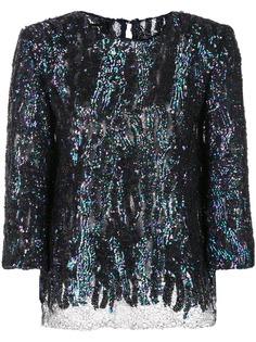 Haney блузка Anja с пайетками
