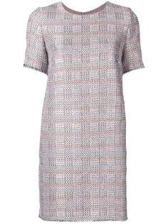 Emporio Armani платье с необработанными краями