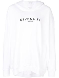 Givenchy худи оверсайз с логотипом