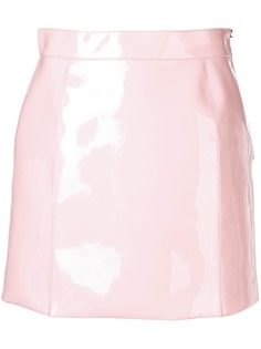 Emilio Pucci лакированная мини-юбка