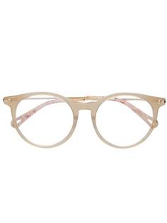 Chloé Eyewear очки в круглой оправе