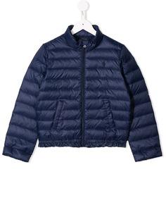 Ralph Lauren Kids куртка-пуховик с оборками