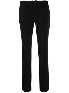 Gucci Pre-Owned брюки 1990-х годов прямого кроя