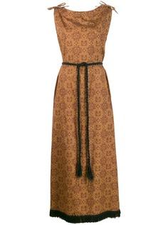 A.N.G.E.L.O. Vintage Cult платье макси 1960-х годов с принтом