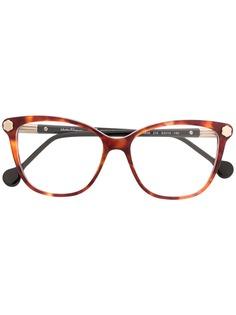 Salvatore Ferragamo очки в оправе черепаховой расцветки