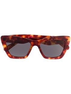 Salvatore Ferragamo Eyewear солнцезащитные очки в оправе кошачий глаз