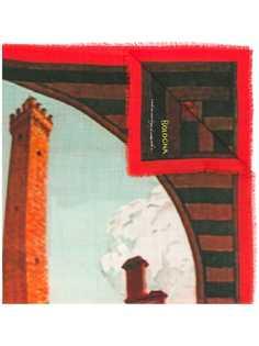 Fefè шарф с рисунком