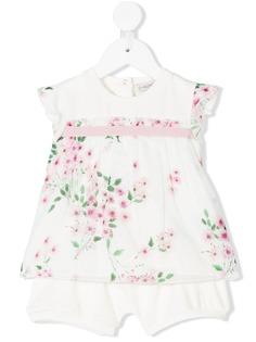 Moncler Kids туника с цветочным принтом и шорты