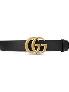 Gucci ремень с пряжкой-логотипом
