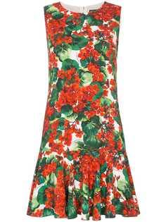 Dolce & Gabbana платье Cady с цветочным принтом