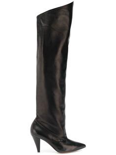 Givenchy ботфорты с заостренным носком