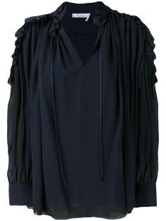 Chloé блузка с открытыми плечами