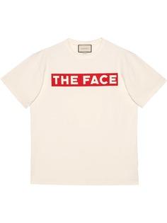 Gucci футболка оверсайз с принтом The Face