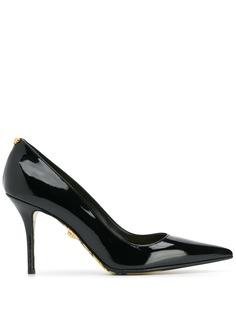 Versace туфли с принтом Barocco на подкладке