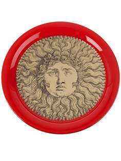 "Fornasetti поднос ""Sole gold red"""