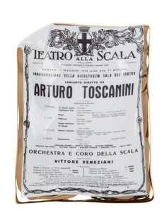 Fornasetti пепельница Toscanini
