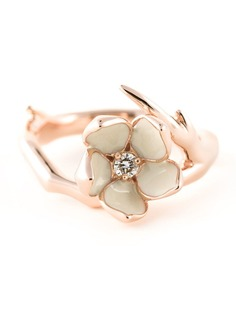 Shaun Leane кольцо Cherry Blossom с бриллиантом