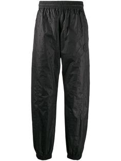 Off-White спортивные брюки с фактурной отделкой