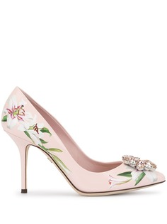 Dolce & Gabbana туфли-лодочки с принтом