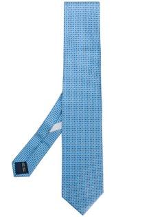 Salvatore Ferragamo галстук с мелким узором