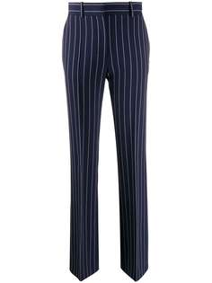 See By Chloé брюки прямого кроя в тонкую полоску
