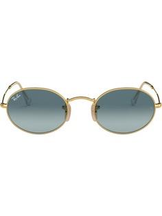 Ray-Ban солнцезащитные очки RB3547 в овальной оправе