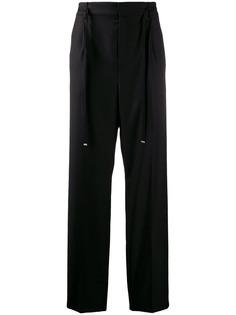 Saint Laurent строгие брюки с поясом