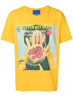 Gucci футболка с принтом Elton John
