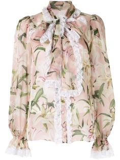 Dolce & Gabbana блузка с принтом