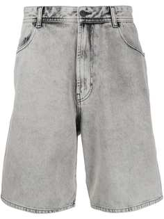 Diesel джинсовые шорты свободного кроя