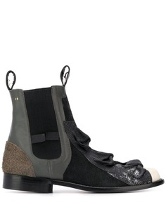 Comme Des Garçons Pre-Owned ботинки челси 1990-х годов с бантом