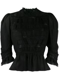 Marc Jacobs кружевная блузка Victorian