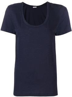 Moncler футболка с V-образным вырезом