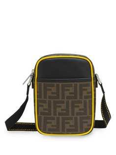 Fendi маленькая сумка через плечо с узором FF