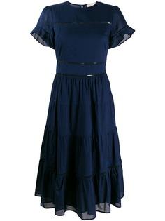 Michael Michael Kors платье миди А-силуэта