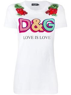 Dolce & Gabbana футболка с логотипом