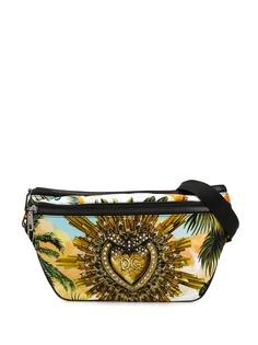 Dolce & Gabbana поясная сумка с принтом Sacred Heart