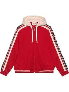Gucci куртка-бомбер из джерси