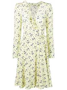 Ermanno Scervino платье с цветочным принтом