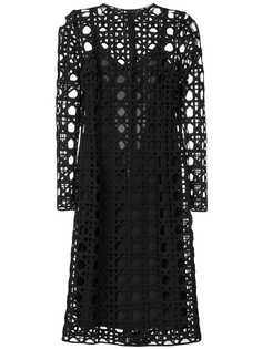 Dolce & Gabbana платье с вырезными деталями