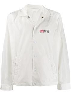 Diesel куртка-рубашка с логотипом