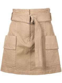 A.L.C. юбка мини с завышенной талией