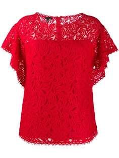Escada блузка с оборками на рукавах