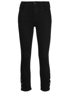 J Brand укороченные джинсы с завышенной талией