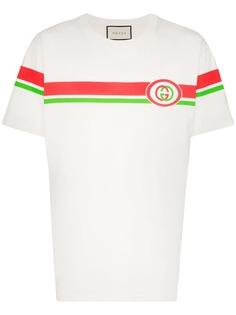 Gucci футболка с логотипом Interlocking G