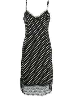 Michael Michael Kors платье в мелкую точку